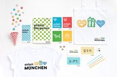 Landeshauptstadt München - Einfach München   Marken- und Design-Agentur Zeichen & Wunder   Corporate Design CD   Corporate Identity CI   Messe Retail PoS