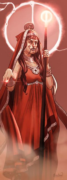 A sorceress of the Lunar Empire in the RPG campaign setting of Glorantha. She specializes in curses, hexes and geases, rather than flashy, battle-spells. Comet Seer by calebcleveland Fantasy Inspiration, Character Inspiration, Character Design, New Fantasy, Fantasy World, Witch Characters, Star Wars Rpg, Arabian Nights, Character Portraits