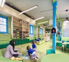 aberrant architecture redesigns rosemary works school in east london - designboom | architecture