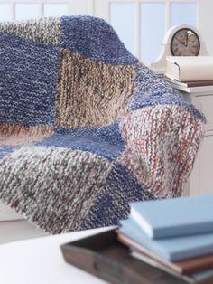 Leftover Yarn Blanket   Yarn   Free Knitting Patterns   Crochet Patterns   Yarnspirations