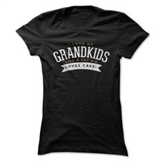 I Love My Grandkids Like a Fat Kid Loves Cake T Shirts, Hoodies, Sweatshirts - #sweatshirt #white shirts. BUY NOW => https://www.sunfrog.com/Names/I-Love-My-Grandkids-Like-a-Fat-Kid-Loves-Cake.html?id=60505