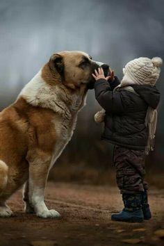 Con el perro