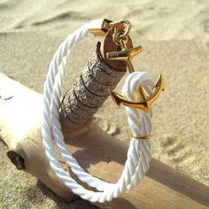 Fancy - Anchor Cord Bracelet by Aykupa