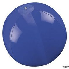"14"" Blue Solid Color Beach Balls 12 Pack"