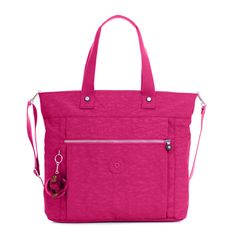 "This <a href=""http://www.kipling-usa.com/monogram-travel/"">monogrammable</a> tote has travel written all over it! Packed personalization options, this carry-on tote a one-of-a-kind style with emojis, initials or a fun saying! Lizzie features a spacious interior with a protective laptop compartment and a special sleeve at the back that holds it securely to your luggage handle. This carry-on tote is amazing for every day, too, and is often use..."