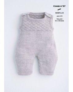 Modèle Combinaison CB16-38- Patron tricot gratuit
