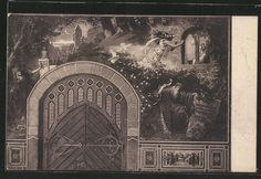 Alte Ansichtskarte: AK Dornröschens Geburt