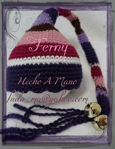 116 Caramelo de Natalia / Natalia's Candy  Gorrito tejido a Crochet / Crochet Hat