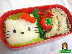 21 Amazing Hello Kitty Bento Designs