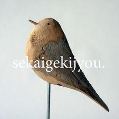 driftwood bird