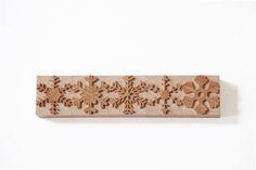 Snowflakes woodtype