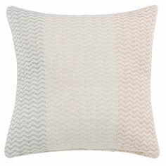 Cushion cover of cotton with jacquard pattern 50x50 |  Maisons du Monde