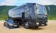 Luxury Caravans, Luxury Motorhomes, Bus Camper, Travel Trailer Tires, Luxury Rv Living, Basement Movie Room, Vintage Rv, American Gods, Expedition Vehicle