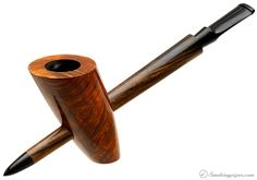 Werner Mummert Smooth Spike Cavalier Pipes at Smoking Pipes .com