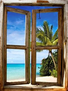 A window to paradise, Tahiti