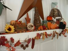 Autumn garlands