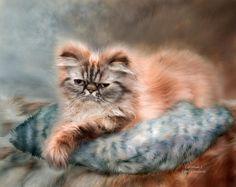 Схема вышивки «кот» - Вышивка крестом