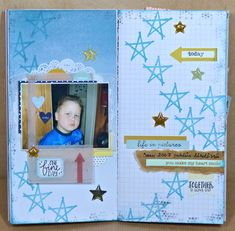 It´s time for Scrap the Boys ! I made my page on my Traveler´s Notebook. Photo was took on My older son Sami. Atc, Layouts, Studios, Scrap, Notebook, Boys, Frame, Baby Boys, Picture Frame