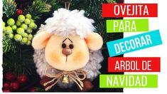 🌟Como Hacer OVEJAS Para Decorar el ÁRBOL DE NAVIDAD🌲-DIY- Manualidades N... Navidad Diy, Christmas Ornaments, Holiday Decor, Youtube, Country, Videos, Holiday Ornaments, How To Make, Noel