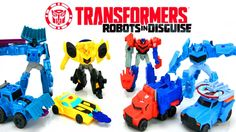 Transformers Robots In Disguise McDonalds Happy Meal Toys with Bumblebee Optimus Prime and more! We have a LOT more Transformers Toys on our channel but if there are any Transformers you would like to see us open let us know in the comments below. Transformers Generations Combiner Wars Voyager ONSLAUGHT Kids Toy Action Figure - https://youtu.be/rj7ZZjLjIH0?list=PL-diNw5n7OXm97kXwO9xz2d_IdlBhUmcm Transformers One Step Changers Robots in Disguise Wave 1 2 3 6 Wave 8 NEW Bumblebee and…