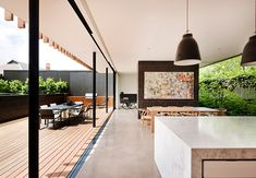 Kooyong Road House in Australia by Matt Gibson A+D