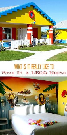 Want to know what it's like to stay in a LEGO house? Find out on this tour of the new LEGOLAND Beach Retreat.