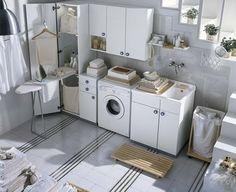 IDE-RUMAH.blogspot.com: Ide cerdas dan penuh gaya menata ruang cuci pakaian