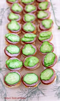 These Tea Canapés Appetizers Recipe is perfect for parties, quick get togethers or just to have a cup of tea to go along with these appetizers at the table or pack a picnic with your friends.