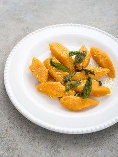 true taste hunters - kuchnia wegańska: Kopytka z batatów (wegańskie, bezglutenowe)