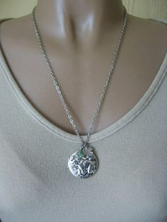 Elephant LOCKET Elephant Jewelry Good Luck by CharmedValley, $27.50