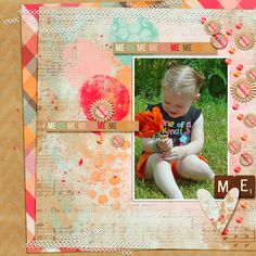 My granddaughter playing with the poppies.  Credits: Fuss Free: Shiny Happy Sequins 1 by Fiddle-Dee-Dee Designs http://scraporchard.com/market/Fuss-Free-Shiny-Happy-Sequins-2-Digital-Scrapbook.html  Kit was a facebook freebie by Renee Kniep
