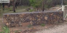 neatly stacked gabion wall, http://www.gabion1.com.au
