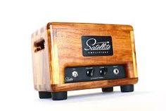 Risultati immagini per guitar head amplifier wood