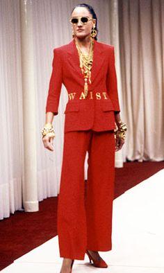 moschino couture - WAIST OF MONEY.