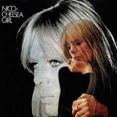 """Solo album by Nico, a German model and singer who was famously associated with the Velvet Underground and Andy Warhol. The album title refers to her having performed in Warhol's movie, """"Chelsea Girls,"""" The Velvet Underground, Underground Series, Iggy Pop, Jim Morrison, Bob Dylan, Lp Vinyl, Vinyl Records, Rare Vinyl, Woody"""