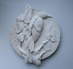 Peacock Wall Art, Clay Art, Plaster, Sculpting, Lion Sculpture, Statue, Contemporary, Drywall, Crafts