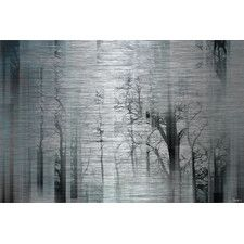 Wild Trees - Art Print on Brushed Aluminum