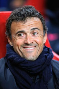 Manager Luis Enrique of Barcelona looks on during the UEFA Champions League Group F match between AFC Ajax and FC Barcelona at The Amsterdam Arena on November 5, 2014 in Amsterdam, Netherlands.