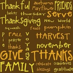 Thanksgiving by rosario