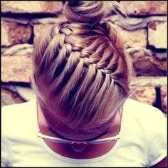 zopf-frisuren-lange-haare | beauty+hairstyling | Pinterest | Zopf ... | Einfache Frisuren