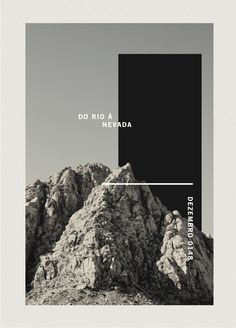 Print & Posters by Leo Porto, via Behance