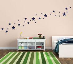 Étoiles autocollants  Stickers étoiles  autocollants par WallTribe