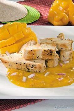 Pechugas en Salsa de Mango