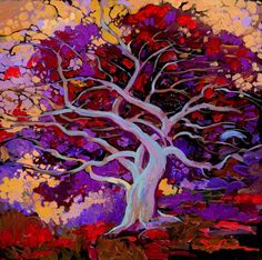 Painting by Simon Bull on Zenfolio. Tree Of Life Art, Tree Art, Types Of Art, Art Techniques, Landscape Art, Painting Inspiration, Art Pictures, Painting & Drawing, Amazing Art