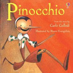 Pinocchio (Picture Books) by Carlo Collodi https://www.amazon.com/dp/0746070357/ref=cm_sw_r_pi_dp_x_sQIqybHP239J8