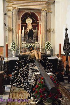 SOLEMNE BESAPIÉS EXTRAORDINARIO DEL SANTÍSIMO CRISTO DE LA BUENA MUERTE DE CÁDIZ. - Web LA MANIGUETA