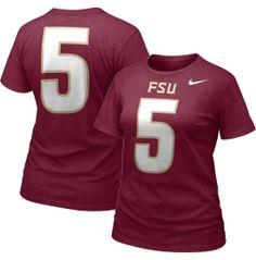 Nike Florida State Seminoles Garnet #5