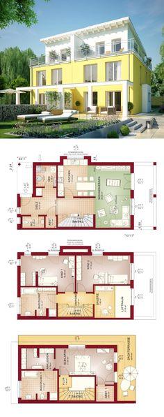 Klassisches Satteldach-Haus mit Pergola - Einfamilienhaus - bien zenker haus