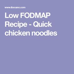 This one-pan dish is hassle free and extremely economical - great for students who hate doing the dishes Fodmap Recipes, Rice Recipes, Vegetable Recipes, Chicken Recipes, Dinner Recipes, Recipe Chicken, Fodmap Diet, Low Fodmap, Thai Rice Noodles