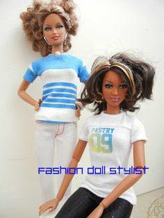 Fashion Doll Stylist: A Trace of Style